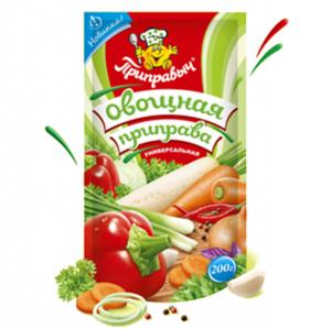 """Приправа """" Овощная """" универсальная 200 гр"""