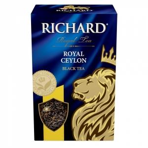 """Чай """"Richard"""" роял цейлон черный кр/листовой 90гр."""