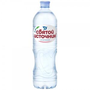 """Вода """"Святой источник"""" негазированная 1 л."""