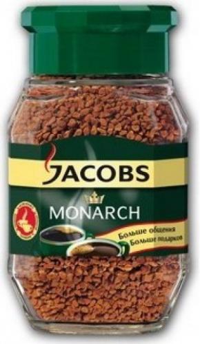 """Кофе """"Jacobs Monarh"""" (Якобс Монарх) стекло 95 г"""