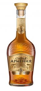 """Коньяк трехлетний """"Старая Армения"""" 40% 0,5 л."""