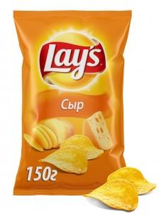 "Чипсы ""Лейс"" сыр 150 гр."