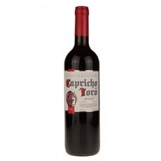 """Вино """"Капричо Дель Торо"""" столовое полусладкое красное 10-13% 0,75л.(Испания)"""