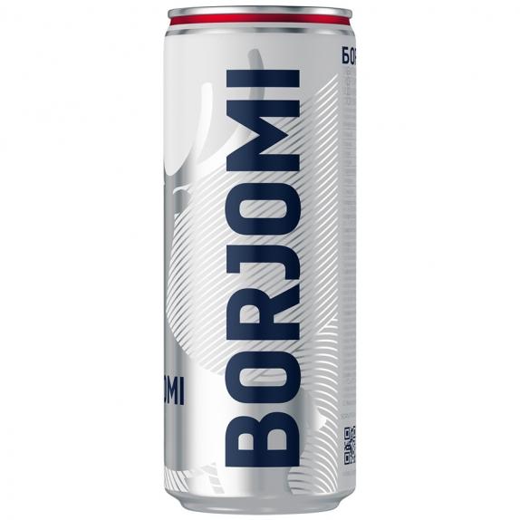 """Минеральная вода """"Боржоми""""ж/б 0.33 л."""