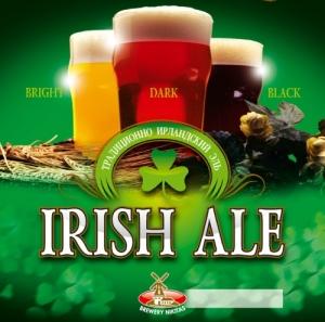"""Пиво """"Ирландский Эль"""" тёмное фильтрованное 7,2%"""