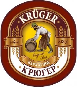 """Пиво """"Крюгер Бархатное"""" тёмное фильтрованное 4,2%"""