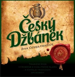 """Пиво """"Чешский Джбанек"""" светлое фильтрованное 4,5%"""