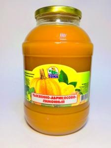 """Сок """"Тома"""" тыквенно-абрикосово-лимонный 2л."""