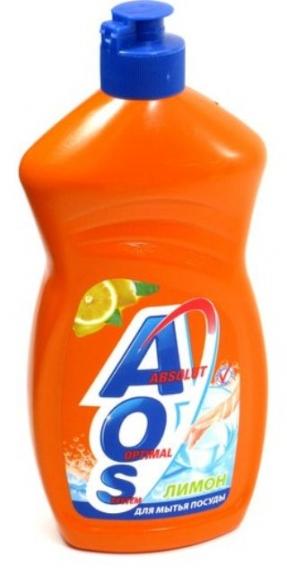 """Жидкость для посуды """"AOS"""" 500мл"""