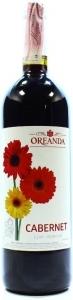 """Вино """"Каберне Oreanda"""" столовое сухое красное 10-12% 0,75л"""