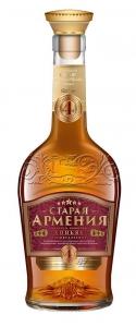"""Коньяк четырехлетний """"Старая Армения"""" 40% 0,5 л."""