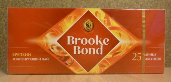 "Чай ""Brooke Bond"" Strong чёрный в пакетиках 25 Х 1,8 г"
