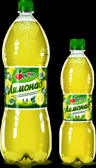 """Безалкогольный напиток """"Фрутто"""" лимонад (ПЭТ 2,0 л)"""