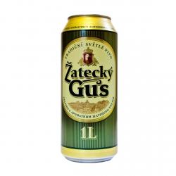 """Пиво """"Zatecky Gus"""" 4,6% (Жатецкий Гусь) (ж.б. 0,9 л)"""