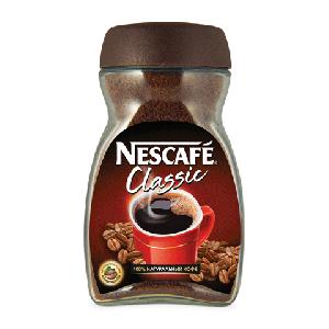 """Кофе """"Нескафе Классик"""" растворимый (стекл.б. 95 г)"""