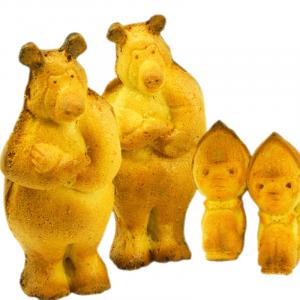 """Кексы """"Маша и Медведь"""" с банановой начинкой 1 кг. вес."""