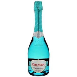 """Российское шампанское брют белое cristal brut """"Oreanda"""" 0,75 л."""