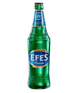 "Пиво ""Efes Pilsener"" 5,0% (бут. 0,5 л)"