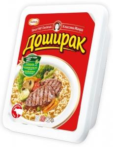 """Лапша """"Доширак"""" быстрого приготовления со вкусом говядины 90 г"""