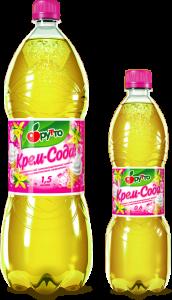 """Безалкогольный напиток """"Фрутто"""" крем-сода (ПЭТ 1,5 л)"""
