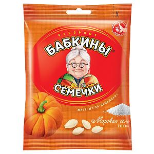 """Семечки """"Бабкины"""" тыквенные 70гр."""
