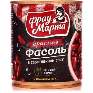 """Фасоль красная """"Фрау Марта"""" 310г ж/б"""