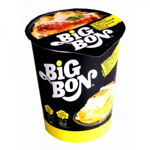 """Пюре картофельное """"Big Bon""""(Биг Бон) с сухариками соус грибы 60гр."""