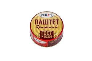 "Паштет ""Пражский"" ГОСТ (Рузком) 117гр"