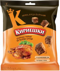 """Сухарики """"Кириешки"""" курица 40 гр."""