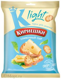 "Сухарики ""Кириешки Light"" сливочный сыр 80 гр."
