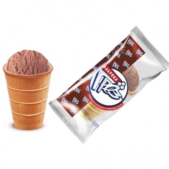 """Мороженое стаканчик """"Фабрика грез"""" шоколадное 70 гр."""