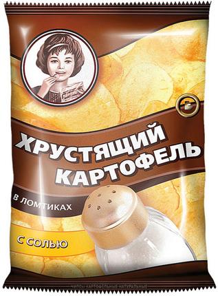 """Чипсы """"Хрустящий картофель в ломтиках"""" в ассортименте 40 гр."""