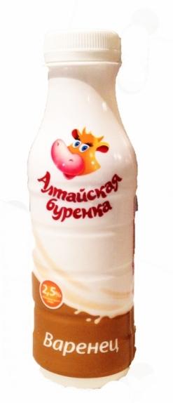 "Варенец ""Алтайская Буренка"" 2,5% 290 гр."