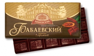 "Шоколад ""Бабаевский"" горький 100 г"