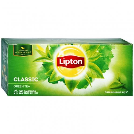 Чай зеленый Lipton Green Classic 25 пакетиков