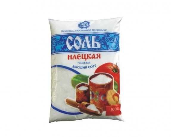 Соль Илецкая поваренная пищевая молотая 1 кг