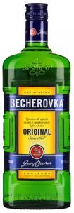 """Ликёр """"Becherovka"""" (Бехеровка) 38% 0,7л"""