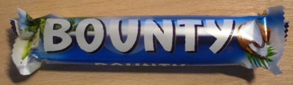 """Шоколадный батончик """"Баунти"""" 55 г"""