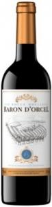 "Вино ""Baron D""Orcel VDCE ROUGE MOELLEUX"" столовое полусладкое красное 10,5% 0,75л.(Франция)"