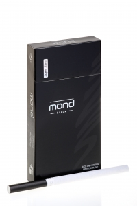 """Табачный набор сигареты с фильтром """"Монд"""" (Mond black super slims) и спички"""