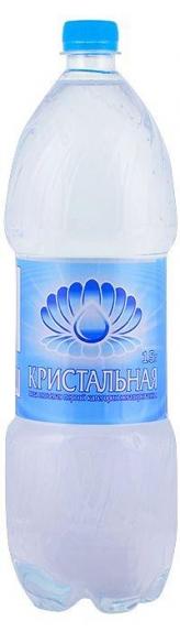 """Вода питьевая """"Кристальная"""" негазированная (ПЭТ 1,5 л)"""