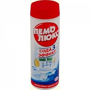 """Чистящий порошок """"Пемолюкс"""" 480 гр Лимон"""