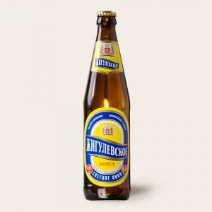 """Пиво """"Жигулевское"""" живое светлое 4% с/б 0,5л."""