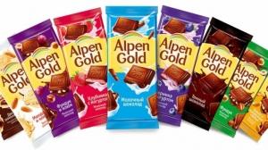 """Шоколад """"Альпен Гольд"""" в ассортименте 100 гр."""