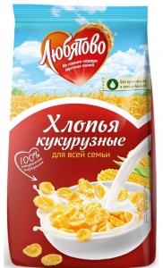 "Хлопья кукурузные ""Любятово"" 300 гр."