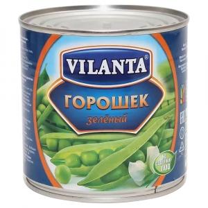 "Горошек зеленый ""Vilanta"" ж/б 400 гр."