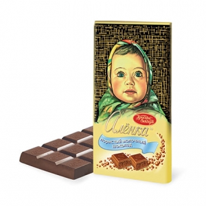 "Шоколад ""Алёнка"" пористый 95г"