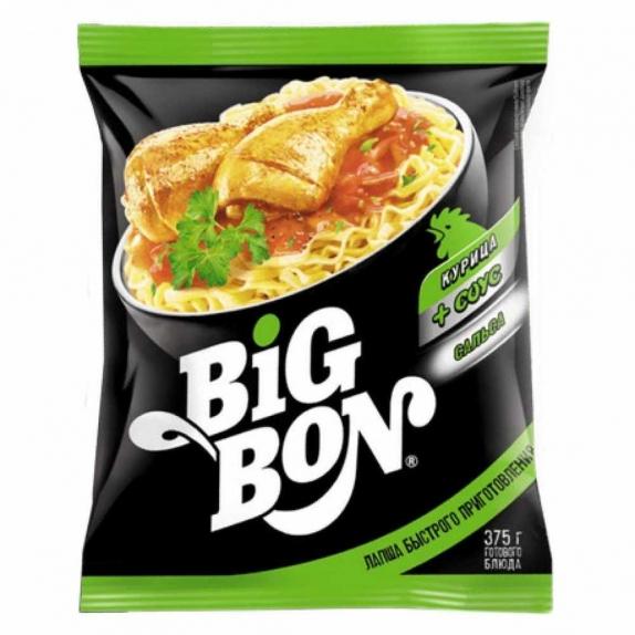 Лапша Big Bon(Биг Бон) 75 гр.в ассортименте