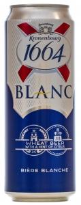 "Пиво ""Kronenbourg 1664 Blank"" 4,5% (ж/б 0,46 л)"