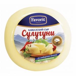 "Сыр мягкий ""Сулугуни"" (Фаворит) 320 гр."